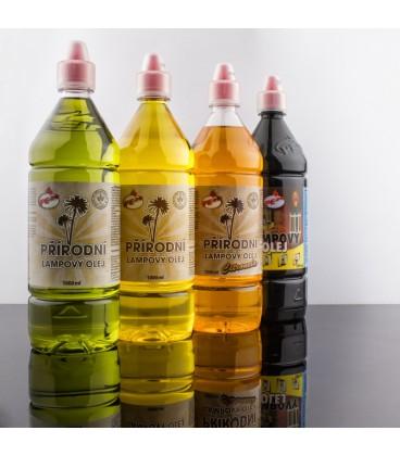 Lampový olej zelený přírodní
