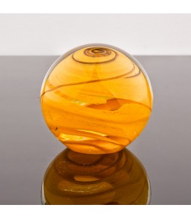 Aqua viventis  Těžítko koule , křišťálové malé barevné 60 mm